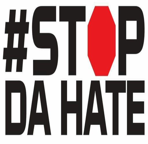 Stop DA Hate Merch Logo