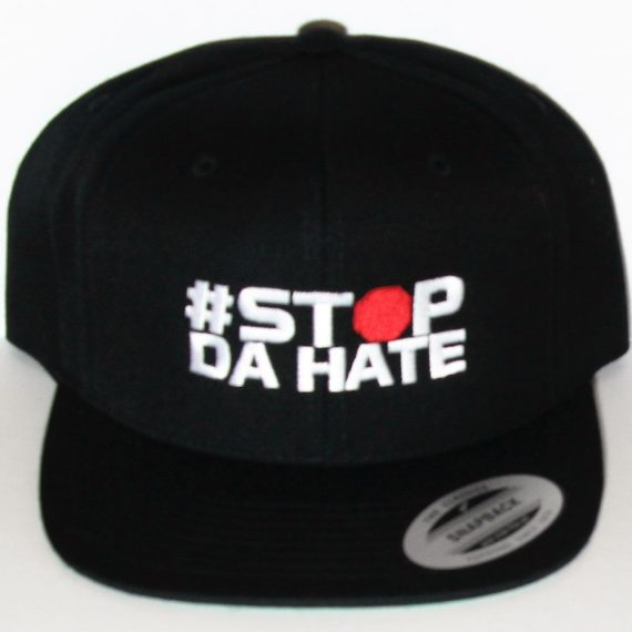 Classic Stop Da Hate Caps (Black)