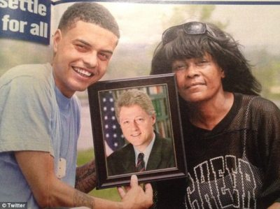 Was Bill Clinton Alleged Son Danney Williams Sitting With The Trump's Too?