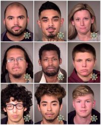 Portland Police Arrested 71 Anti-Trump Protesters; View List & Photos