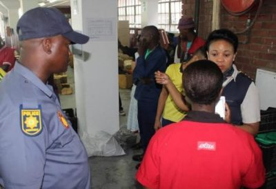War On Illegal Immigrants Increases; Durban Sweatshop Busted